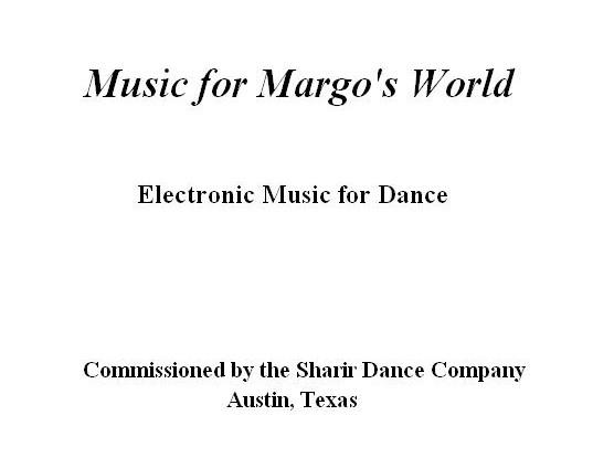Music for Margo's World