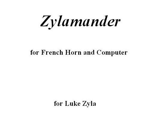 Zylamander